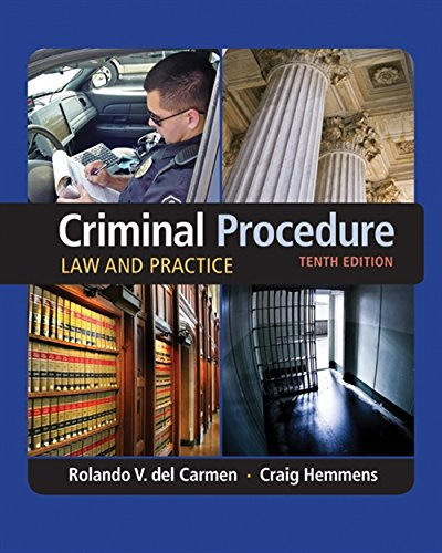 Criminal Procedure: Law and Practice (MindTap Course List)