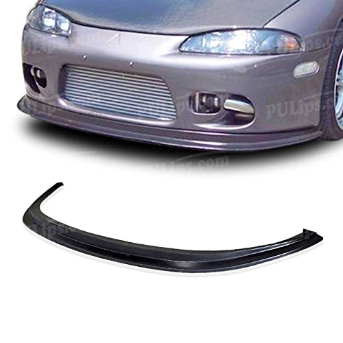 PULIps MSEC97DPFAD - Splitter Style Front Bumper Lip For Mitsubishi Eclipse 1997-1999 All Models