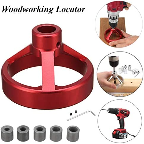 DIY Tools 08560 Carpentry Puncher/Drill Vertical Fixture/Roundwood Tenon Hole Puncher/Woodworking Woodworking Locator Puncher