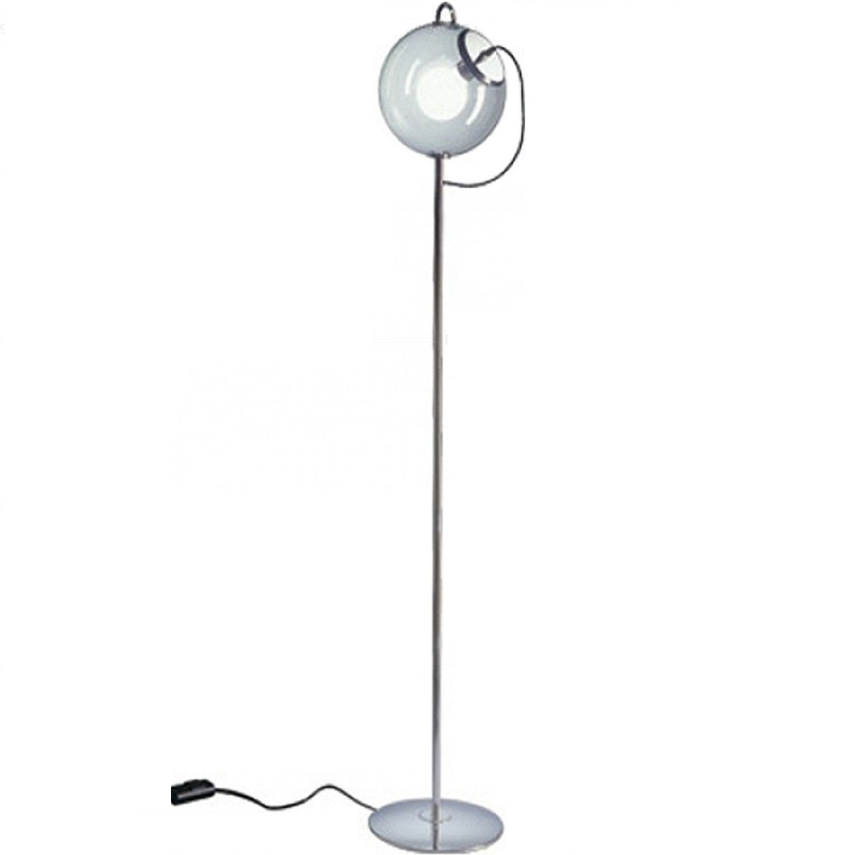 Lights - Floor -Replica Miconos Clear Glass Bubble Floor Lamp Modern Classic