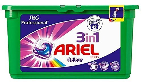 ( 42s Pack ) Ariel Pods 3in1 Colour 42 Capsules