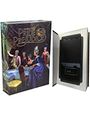 Liuyuan Real Paper Book Locking Booksafe with Combination Combo Lock Dictionary Secret Hidden Safe (Combo/Pride and Prejudice)