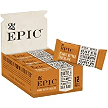 Epic Provisions EPIC Performance Bar Peanut Butter Chocolate, 16.83 oz, 9 Count