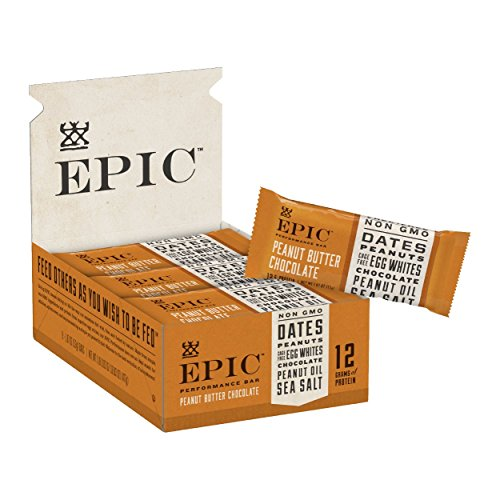 Epic Provisions EPIC Performance Bar Peanut Butter Chocolate, 16.83 oz, 9 ()
