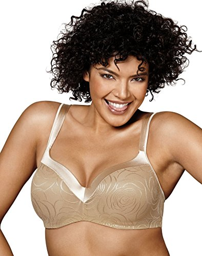 Smoothers Gift Set - Playtex Secrets Body Revelation Jacquard Bra, 38B, Nude Rose Jacquard