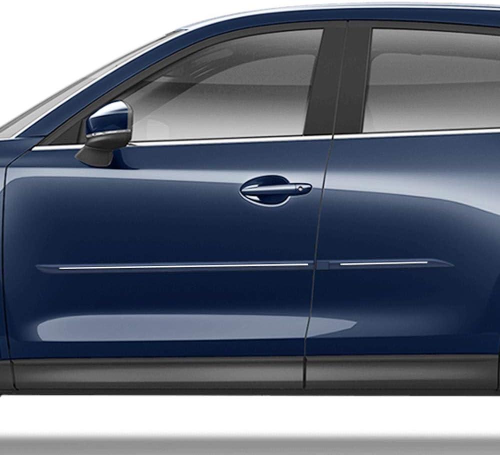 Whitewater Pearl Dawn Enterprises CF7-CX5 Custom Chromeline Body Side Molding Compatible with Mazda CX-5 25D