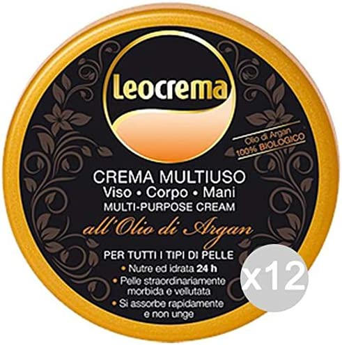 Multicolore Unique Leocrema Set 12/ Multi-Usage Argan 150/ ML Soin de la Peau
