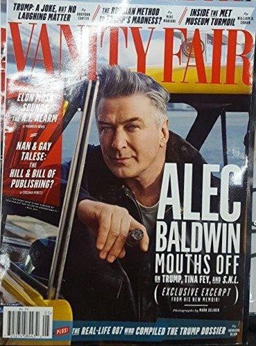 Baldwin Vanity (Vanity Fair Magazine April 2017 ALEC BALDWIN)