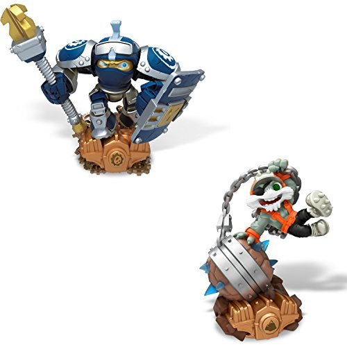 Skylanders Superchargers Figures. Includes Smash Hit and High Volt. Epic Adventures Await with This Pack of Figures for Skylanders Superchargers.