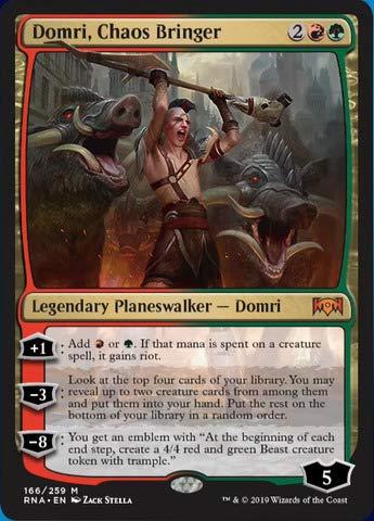 (Magic: The Gathering - Domri, Chaos Bringer (166/259) - Ravnica Allegiance)