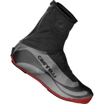 Castelli Estremo Shoe Covers B00915G4XW Small|ブラック/ブラック ブラック/ブラック Small