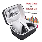 Case Compatible with Oculus Go, VR Case Hard EVA Carry Bag Storage Box fit Oculus Go 32gb/64gb Standalone Virtual Reality Headset and for its Accessories
