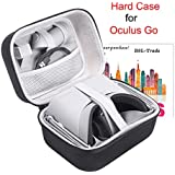 Case Compatible with Oculus Go, VR Case Hard EVA Carry Bag Storage Box for Oculus Go 32gb/64gb Standalone Virtual Reality Headset and Controllers