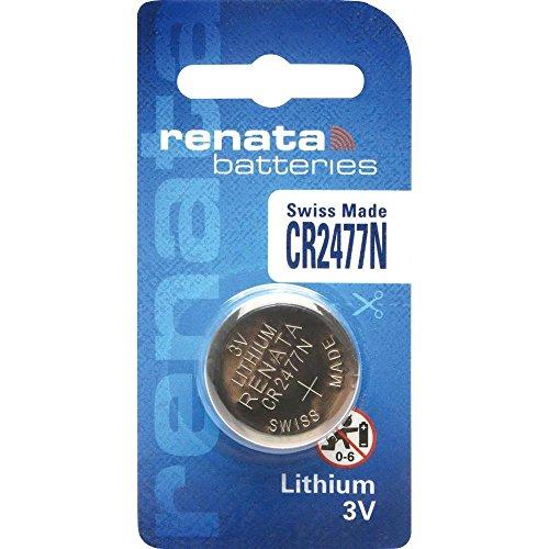 Renata CR2477N 3 Volt Lithium Battery (6 Batteries) …