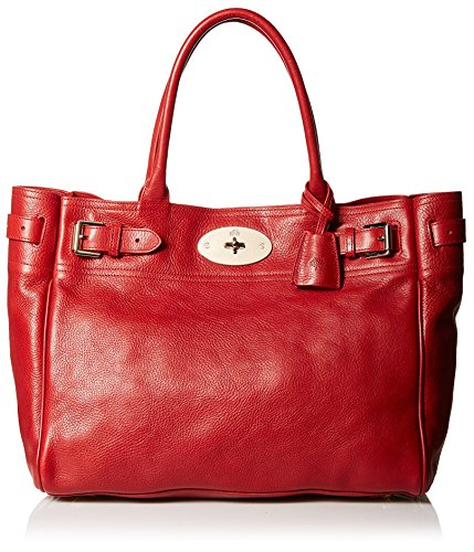 Mulberry Women's Bayswater Tote Bag in Poppy Red