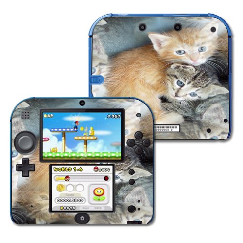 MightySkins Skin For Nintendo 2DS - Kittens | Protective, for sale  Delivered anywhere in Canada