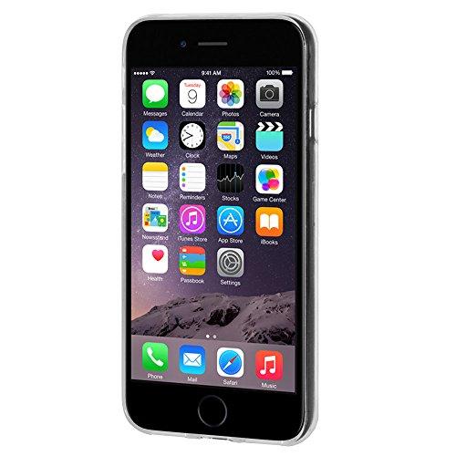 """Amzer Coque en gel souple transparent """"Imprimé Moderne Flamingo en TPU pour Apple iPhone 6/6S"""