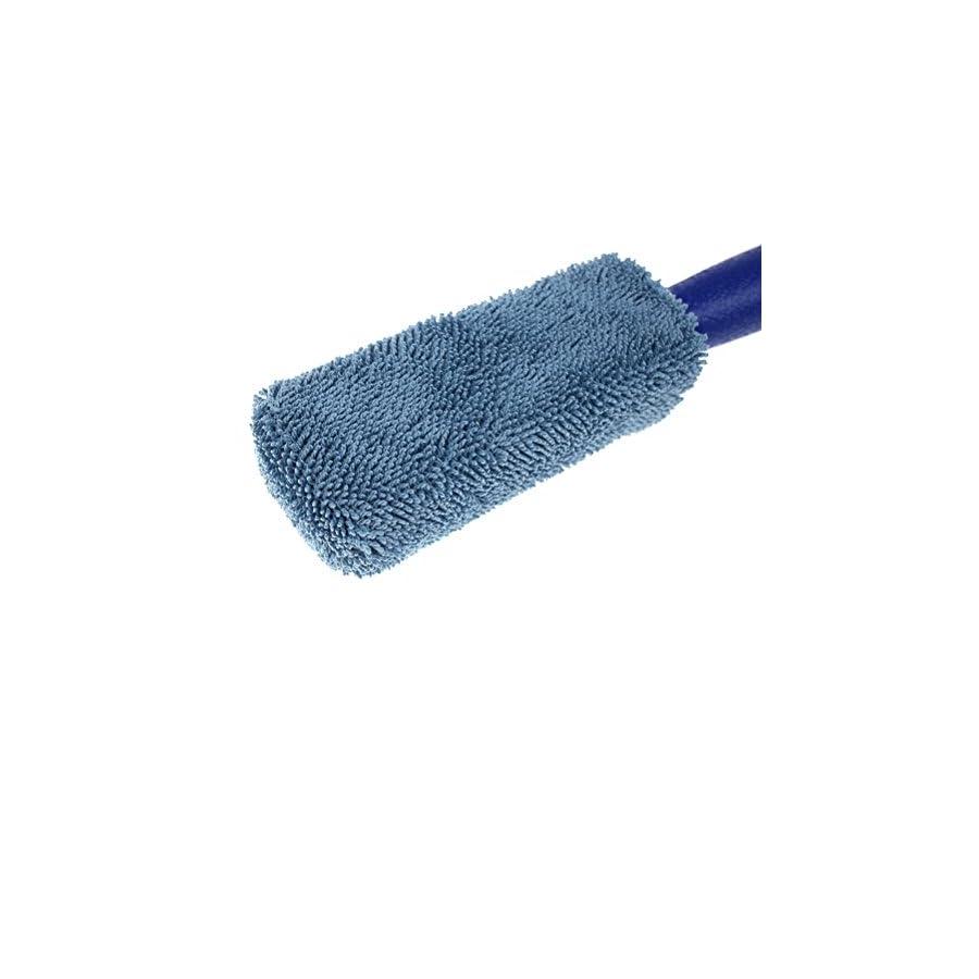 Ioffersuper 2 Pcs Professional Microfibre Soft Car Wheel Cleaning Brush