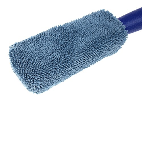 Ioffersuper 2 Pcs Professional Microfibre Soft Car Wheel Cleaning Brush