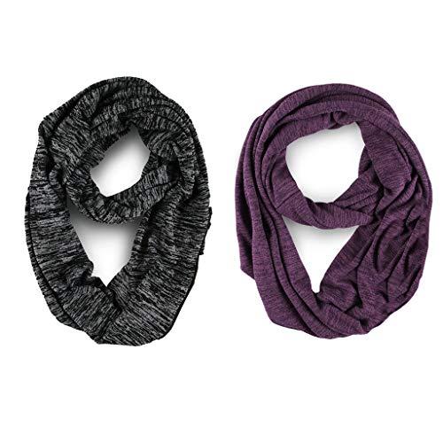 TNNZEET Infinity Scarf Travel Circle Loop Scarf Stylish Unisex-Fashion Lightweight Soft Stretchy (Fashion Scarf Unisex)