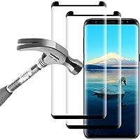 Galaxy S8 Panzerglas Schutzfolie, 2 Stück Samsung Galaxy S8 Displayschutzfolie, 9H Härtegrad Panzerfolie Displayschutz Gehärtetem Glass für Samsung Galaxy S8