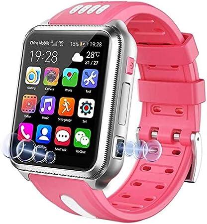 Lloow Smart Watch 4G per Bambini, Orologio Intelligente Impermeabile per Bambini per iOS Android, con Carta SIM e Scheda TF, Doppia Fotocamera, WiFi, GPS, Orologio, Android SmartWatches 2021