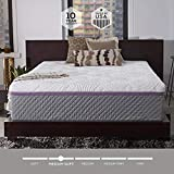 Sleep Innovations Alden 14-inch Memory Foam Mattress, Bed in a Box, Quilted Cover, Made in the USA, 10-Year Warranty - King Size