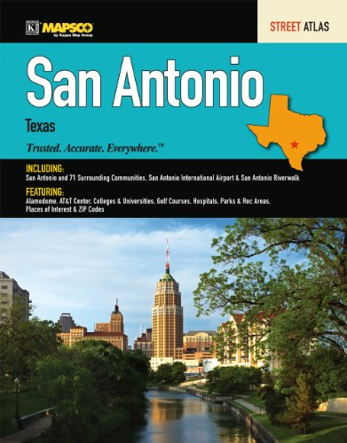 (Mapsco 2011 San Antonio Street Guide (Mapsco Street Guide and Directory San Antonio))