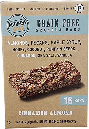 Autumns's Gold Grain Free Cinnamon Almond (16 Count/1.24 Ounce), 19.84 Ounce (2 Packs) by Autumns's Gold (Image #1)