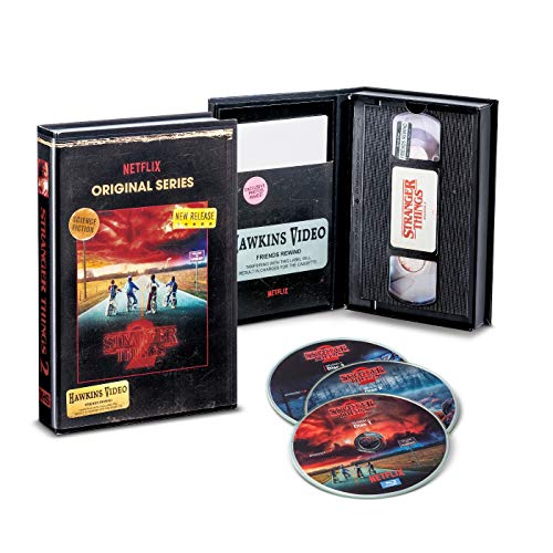 Stranger Things Season 2 Blu-Ray/DVD Collector's Edition