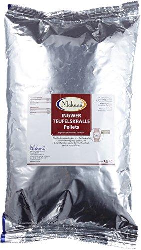 Makana Ingwer Teufelskralle Pellets, Pferde, 1er Pack (1 x 1,5 kg)