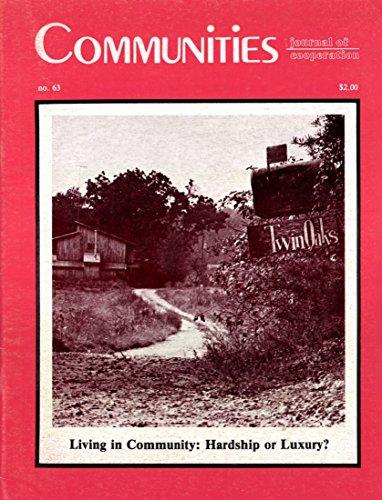 Communities Magazine #63 (Summer 1984) – Living in Community
