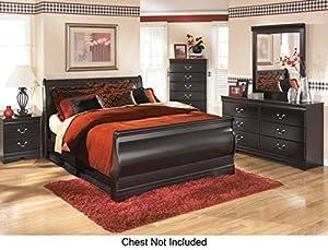 Amazon.com: Huey Vineyard Queen Bedroom Set with Sleigh Bed ...