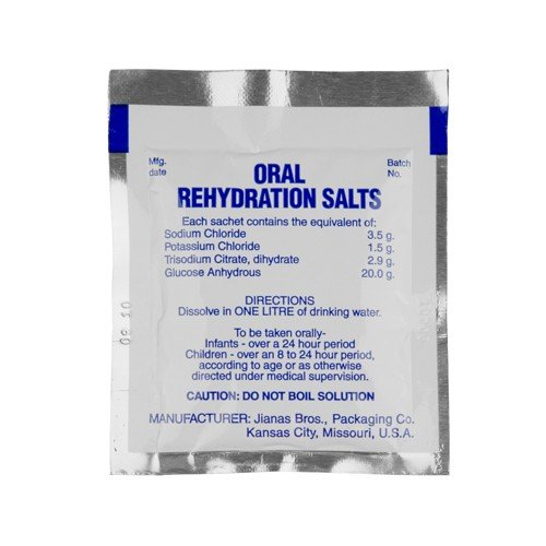 (Oral Rehydration Salts, Pack of 125)