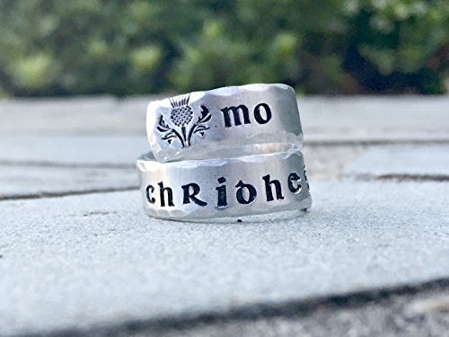 Mo Chridhe - My Heart Twist Wrap Ring by Mod Jules