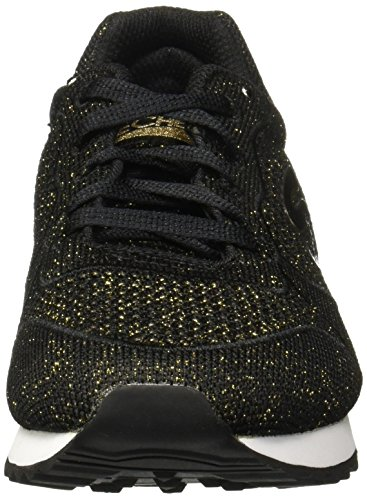 Skechers Womens OG 85 Low Flyers Sneaker Black/Gold wMUqPXgk63
