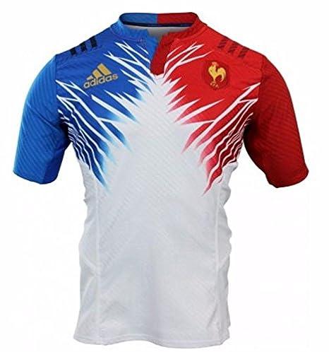Adidas Performance-Camiseta DE LA SELECCIÓN DE Francia 7, Color Blanco, Color, tamaño XXS: Amazon.es: Deportes y aire libre