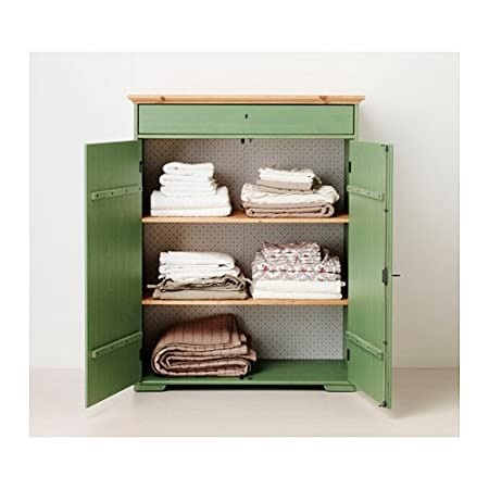 Ikea Hurdal Wascheschrank Kleiderschrank Grun 109 X 50 X 137 Cm