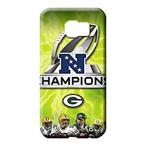samsung galaxy s6 edge Impact Retail Packaging skin cell phone carrying covers green bay packers