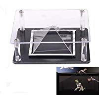 Universal DIY 3D Holographic Projection Pyramid for iPad 4 iPad Air air 2 ipad mini 2 Surface 3 ASUS Fonepad 7 Samsung Huswei MediaPad M2 DELL Venue 8 Pro Lenovo YOGA Sony LG Tablet PC Hatsune Miku 7.9-11‏