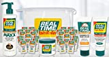 Real Time Pain Relief Value Combo Pack, MAXX Relief, Pain Cream, Hand Cream, Foot Cream, 30 Pain Cream Travel Packets, Bonus Travel Bag