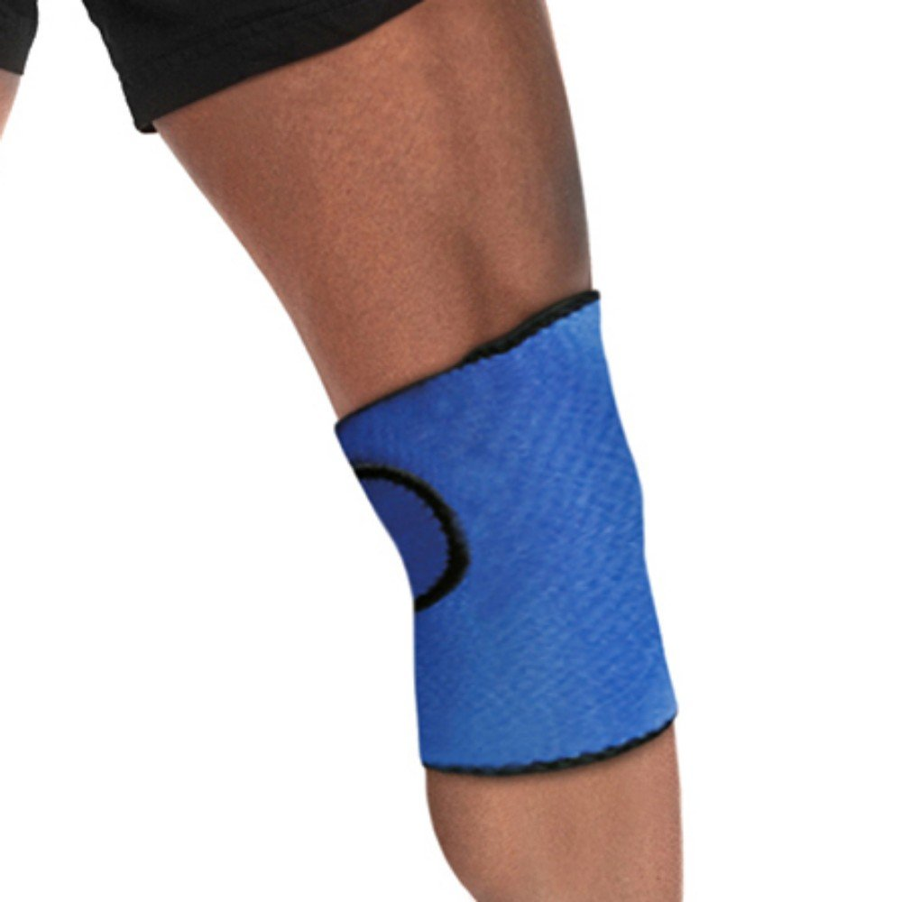 Hot/Cold Therapy KNEE Wrap - CE CERTIFIED & FDA APPROVED - GUARANTEED - Relieve Pain & Soreness + Decrease Swelling! Larger Coverage Area PLUS Convenient Adjustable Wrap!