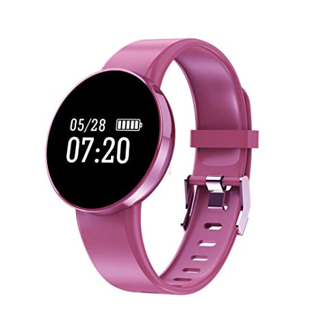 QNKEG Reloj Inteligente IP68 a Prueba de Agua Deporte OLED ...