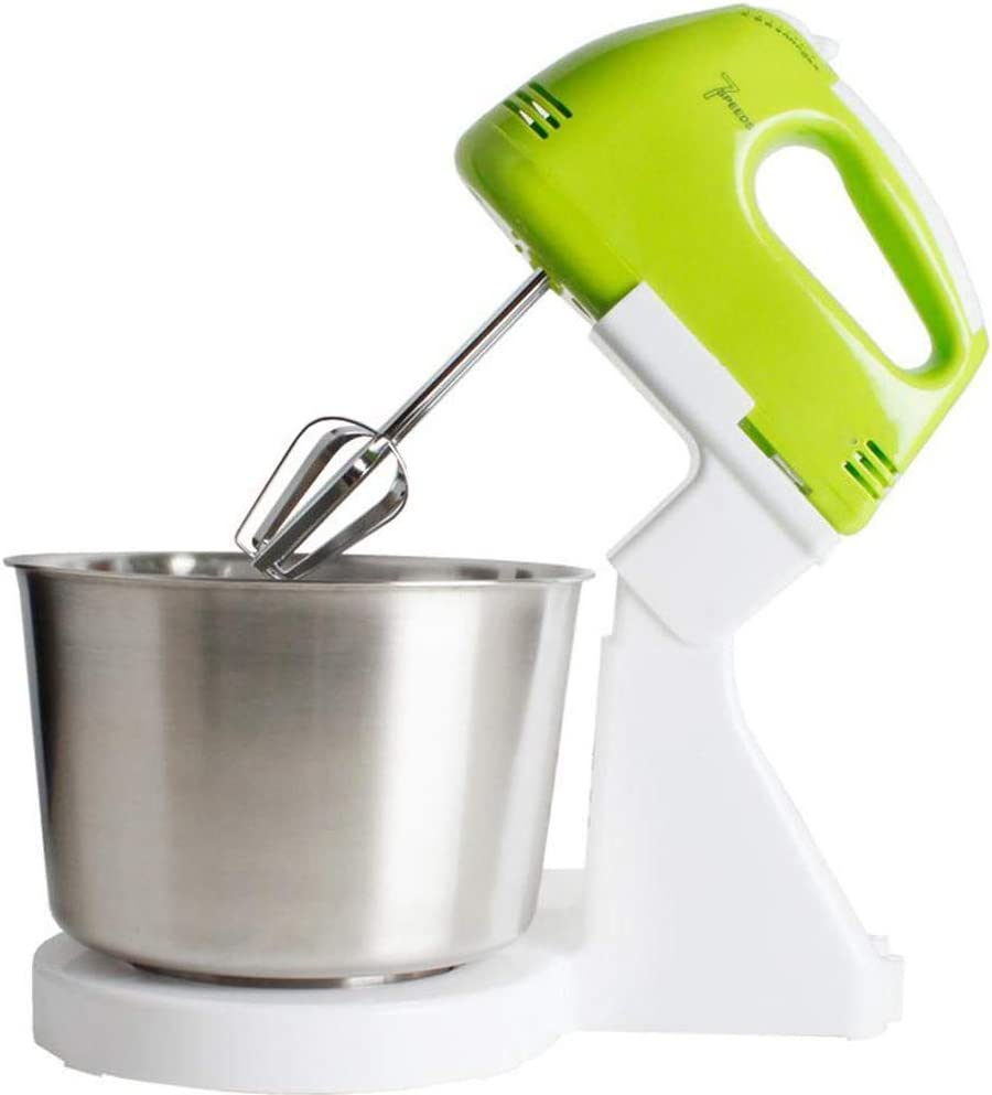 FACAI Stand Mixer, Dough Mixer 100W 7 Speeds Dough Maker Food Processor Handheld for Home Baking Cream Pastry Making Perfect Home Baking Healthy Pastries