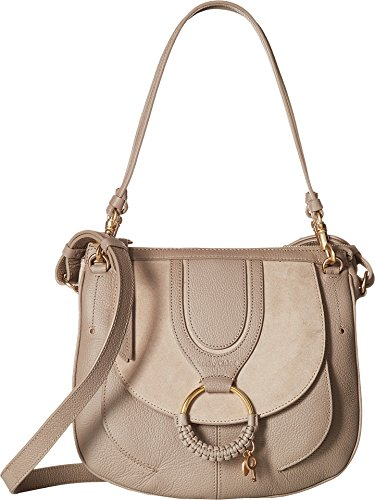 See by Chloe Women's Hana Suede & Leather Tote Motty Grey One Size ()