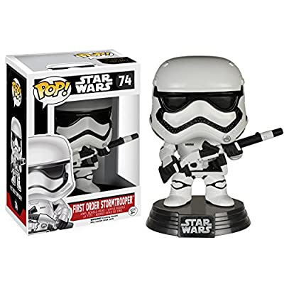 Funko Pop Star Wars: Heavy Artillery First Order Stormtrooper Pop ( Exclusive): Toys & Games