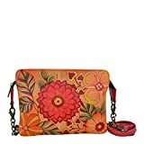 Anuschka Small Crossbody Summer Bloom, Sub/Summer Bloom
