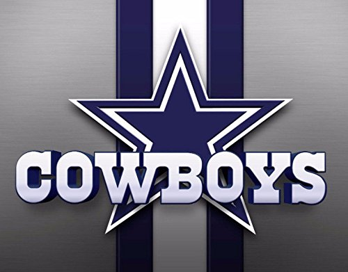 SDore Dallas Cowboys Football Edible Party Cake Image Topper Frosting Icing 1/4 Sheet