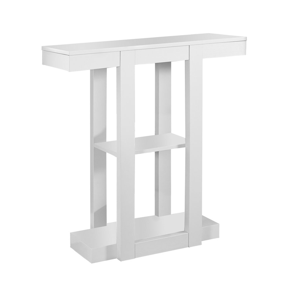 Monarch Specialties I 2455 White Hall Console Accent Table, 32 32