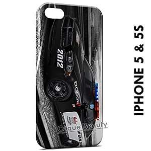 Carcasa Funda iPhone 5/5S Police Dodge Car Protectora Case Cover